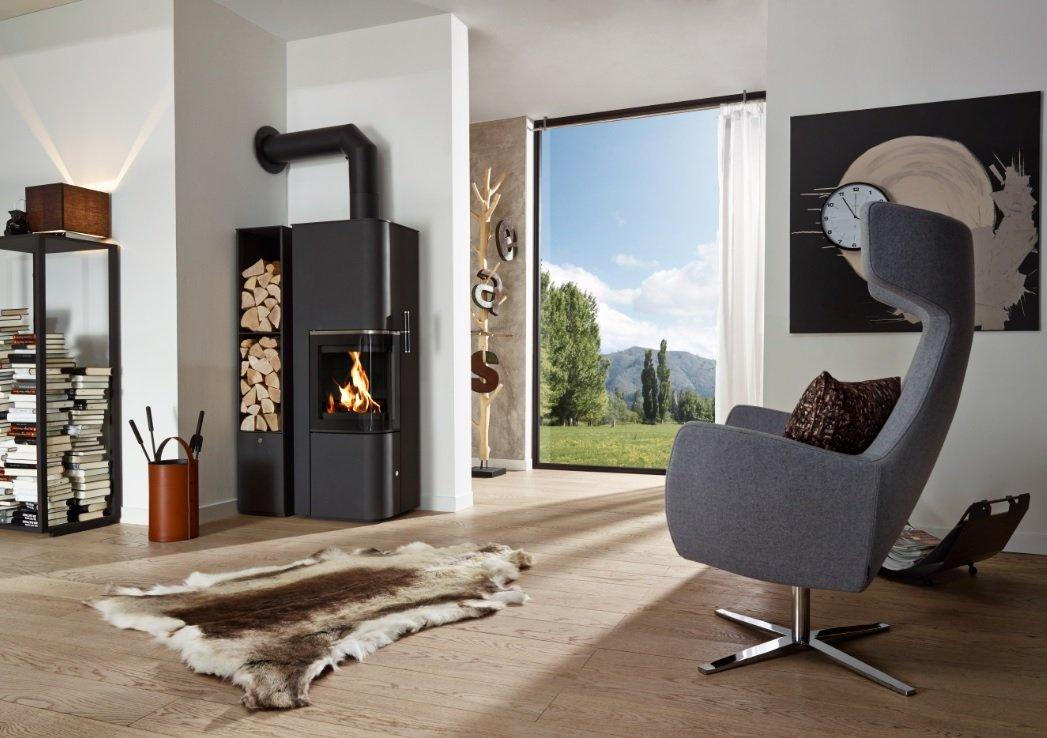 Cera Design Byblos poêle à bois Au coin du feu 38440 Saint Jean de Bournay